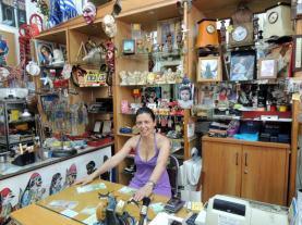 intérieur magasin Patras