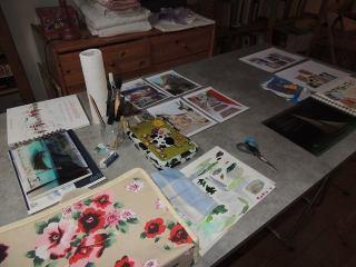 mon atelier d'aquarelle