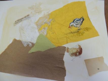 aquarelle et papier