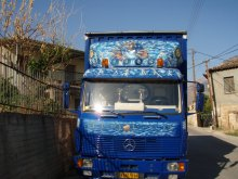 """Un camion de """"Métaphores""""."""
