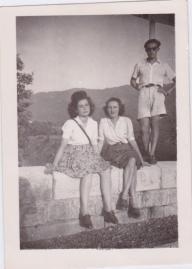 Jacqueline et Andrée, Marcel.